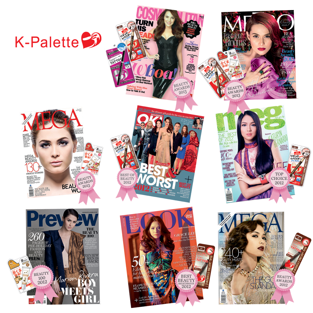 kpalette beauty awards